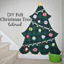 diy christmas tree ne wall