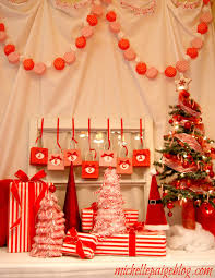 michelle paige blogs red and white candy cane party decorating