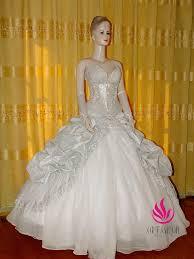 Princess Style Wedding Dresses Handmade Customized Romantic Princess Style Wedding Dress Rc015