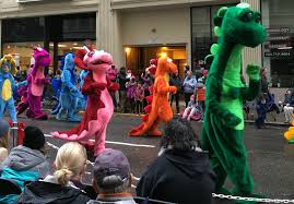 29th annual my macy s parade in downtown portland merlot