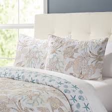Ocean Duvet Cover Ocean View Quilt Set U0026 Reviews Birch Lane