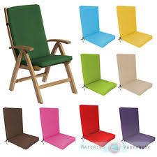 garden recliner cushions ebay