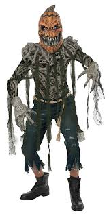 scary costumes mens scary pumpkin creature costume costume craze