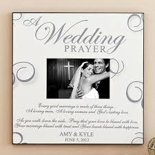 Personalized Wedding Photo Frame Personal Creations Personalized A Wedding Prayer Frame 8128999 Hsn