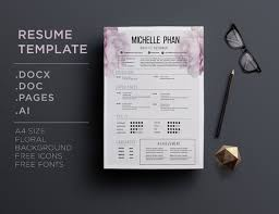 pretty resume templates 10 best beautiful resumes feminine resumes pretty resume