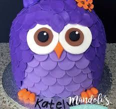 owl cake a purple owl cake mandoli s