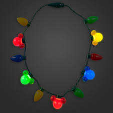 cheap christmas light up necklace your wdw store disney light up necklace happy holidays