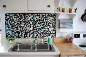 before u0026 after kitchen redo mosaic backsplash u2013 design sponge