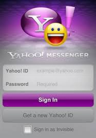 yahoo messenger app for android yahoo messenger gets its own iphone app the cnet