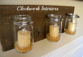 thrift shop flip no 2 mason jar wall sconce clockwork interiors