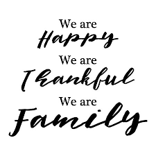 happy thankful family wall quotes decal wallquotes