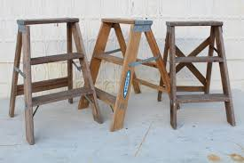 3 step small ladders for decorating vintage home decor out of stock