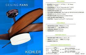 kichler palla ceiling fan kichler palla ceiling fan 300126pn ceilingfan com