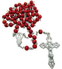 petal rosary jerusalem petals rosary with rosary box and a