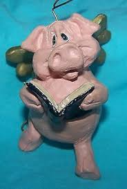 pig ornaments collection on ebay