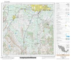 Colima Mexico Map by Maps From Paraglider Colima Mexico