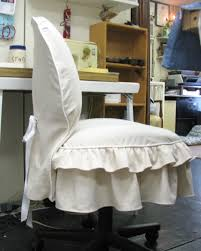 office chair cover tutorial furniture redos pinterest chair