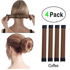 bun accessories simple hair bun maker set 4pcs women kids easy hair