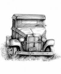 pickup truck sketch vintage 1954 pickup pencil sketch paper in