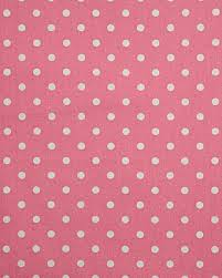 Red Polka Dot Curtains Pure Cotton Pink Polka Dots Curtain Fabric Material Homescapes