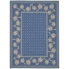 4 X 5 Outdoor Rug Safavieh Ocean Swirls Blue Natural Indoor Outdoor Rug 4 U0027 X 5 U00277
