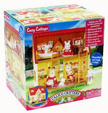 Kitchen Set Toys Box Calico Critters Cozy Cottage Toys