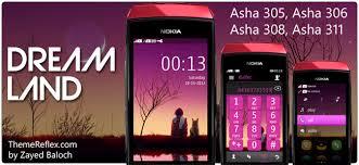 themes nokia asha 202 mobile9 dream land theme for nokia asha 305 asha 306 asha 308 asha 311