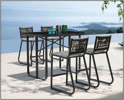 Patio Dining Sets Bar Height - bar height dining set outdoor chairs home decorating ideas hash