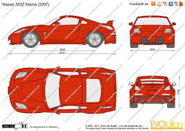 Nissan 350z Nismo - the blueprints com vector drawing nissan 350z nismo