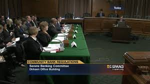 hearing regulatory relief community banks credit unions c span org