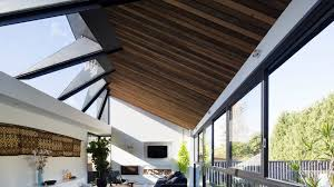 home design architecture concertina rooflight illuminates sydney house by nick bell design