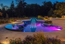 Cool Pool Ideas by Swimming Pool Lights Ideas Rdcny