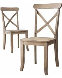 Country Dining Chairs Amazing Deal Country X Back Dining Chair Driftwood