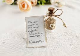 invitation for bridesmaid rustic bridesmaid invitation of honor message