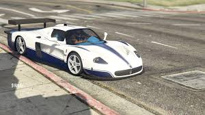 maserati mc12 race car handling for maserati mc12 gta5 mods com
