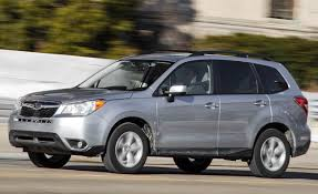 subaru forester 2016 subaru forester boxer in a box review car and driver