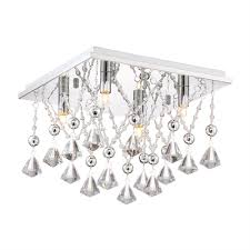 Quoizel Ceiling Light Polished Chrome Crystal Quoizel Ceiling Lights From Lowe U0027s Canada