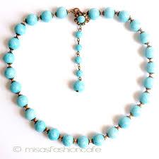 blue glass necklace vintage images Mfcafe japan miriam haskell miriam lotus kel art glass necklace jpg