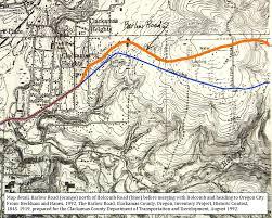Oregon City Map by Thebarlowroad Com