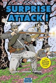 surprise attack battle of shiloh graphic history larry hama