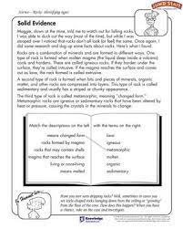 solid evidence u2013 science worksheets for 5th graders u2013 jumpstart