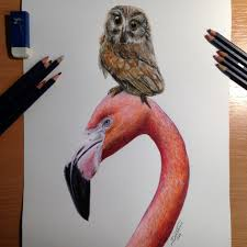 best friends color pencil drawing by atomiccircus on deviantart