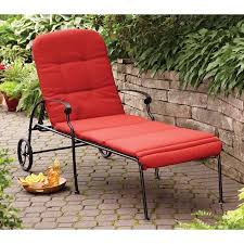 Chaise Lounge Red Better Homes And Gardens Clayton Court Chaise Lounge With Wheels