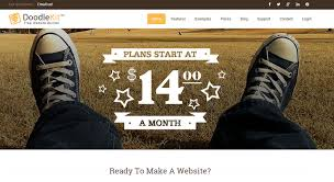 doodlekit login how to build a site easily with these website builders