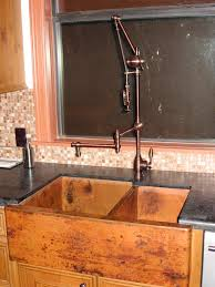 copper kitchen sink faucets unique brass sink faucets peculiar faucet designs