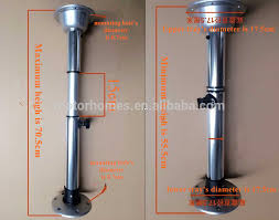 rv table pedestal adjustable good quality and competitive telescopic table legs for motorhome rv