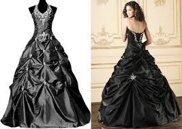 silver wedding dresses black and silver wedding dresses weddingcafeny