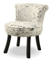 French Script Armchair Monarch Children U0027s Accent Chair U2013 White The Brick