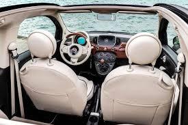 Fiat 500 Interior New Fiat 500 Riva Edition Is The