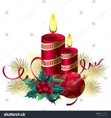christmas candles stock vector 157572323 shutterstock